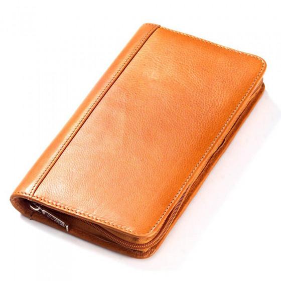Tuscan Leather Passport Wallet (Optional Engraving)