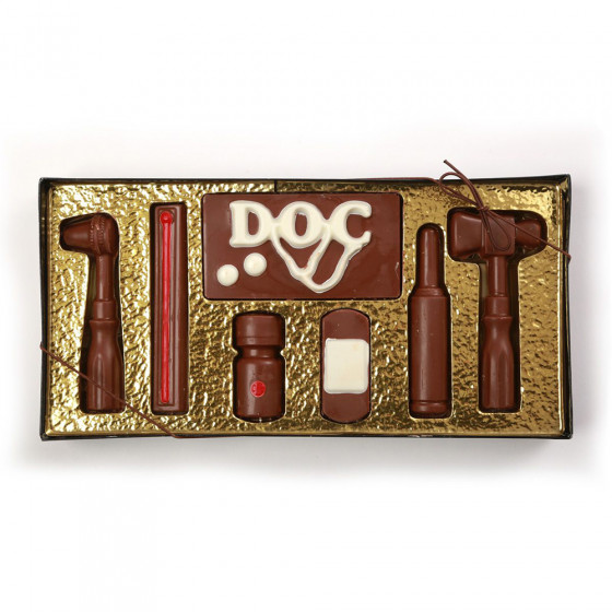 10 Pc. Chocolate Doctor Sets