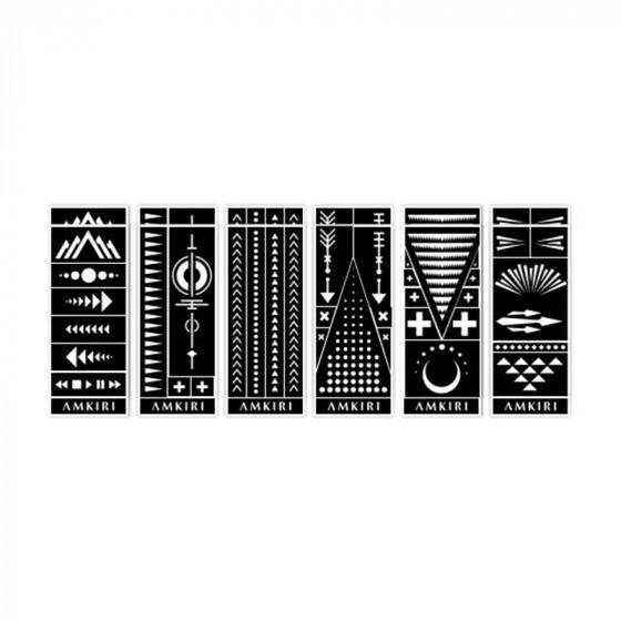 Amkiri Stencil Collection Variety