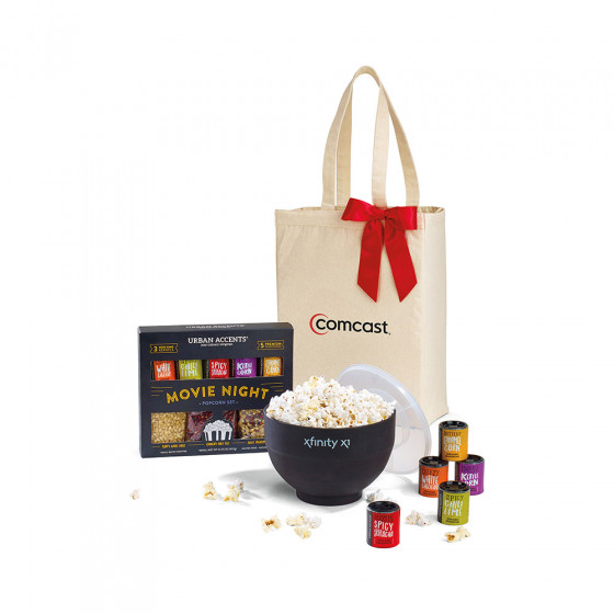 Night at the Movies Custom Gourmet Popcorn Gift Set