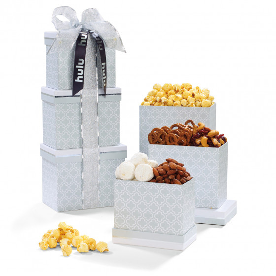 Sweet Sophistication Gourmet Snacks Treat Tower