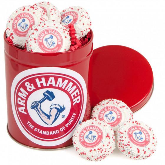 Custom Oreo® 10 Cookies with logo in a Tin Gift box
