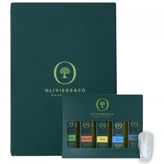 Oliviers and Co Extra Virgin Olive Oil Tasting Kit For Grands Crus 2020
