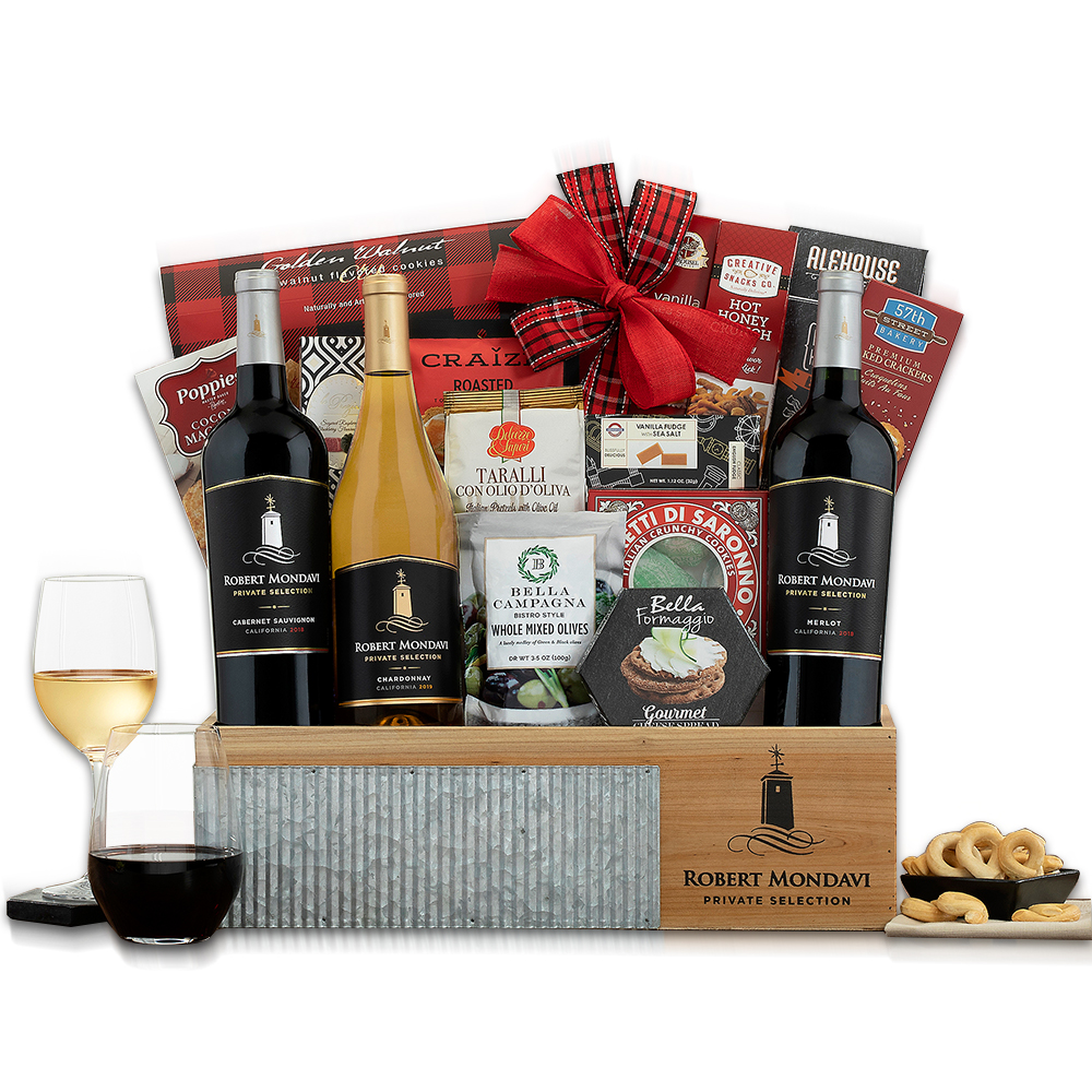 Robert Mondavi Private Selection Wine Gift Basket