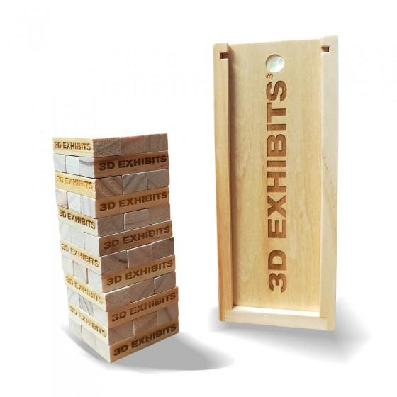 Custom Engraved Mini Tumbling Tower 5.5''