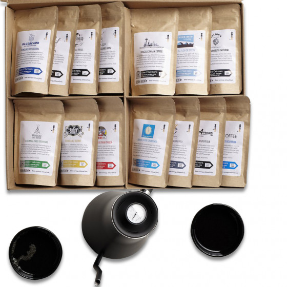 World Coffee Tour Box