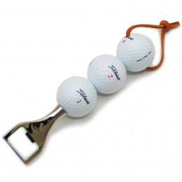 J.O Collection Three Golf Balls Bottle Opener