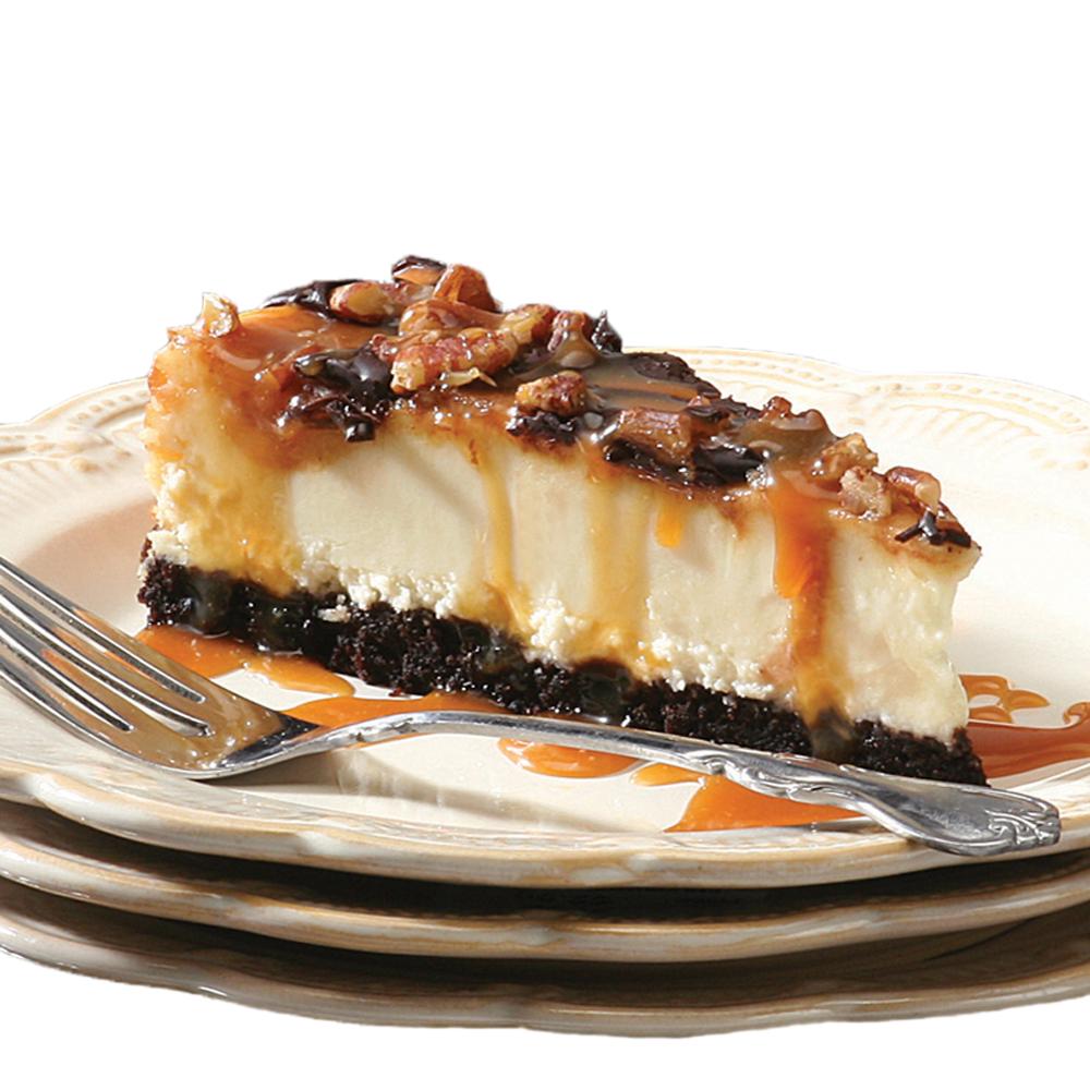 David's Cookies Chocolate Caramel Pecan Cheesecake - 10''