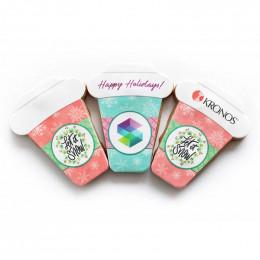 Custom Holiday Latte Cookies