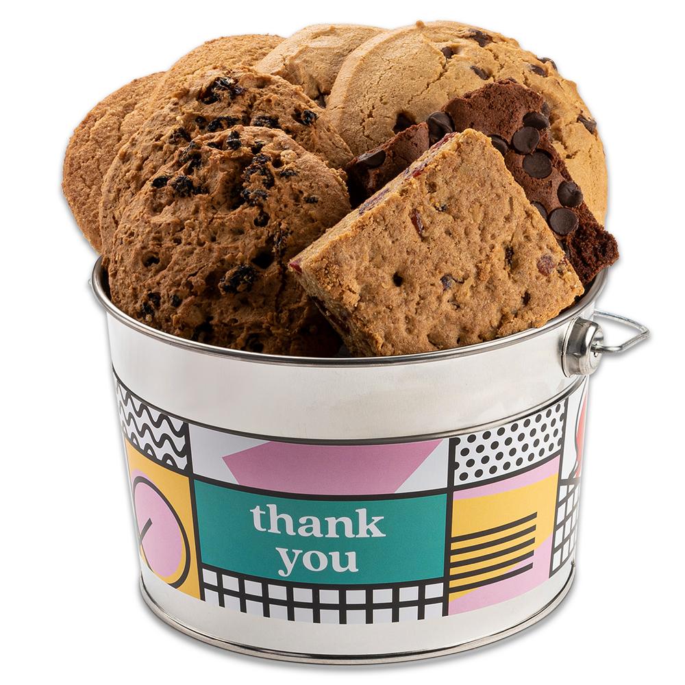 David's Cookies Gluten Free - Dairy Free Cookie And Brownie Bucket