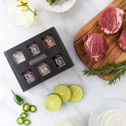 Luxe Infused Salt Variety 6 Pack Mini