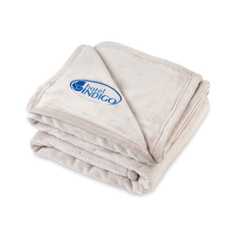 Serenity Plush Custom Throw Blanket