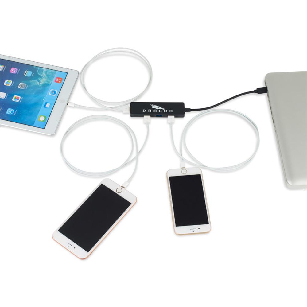 Custom Prism 4 in 1 USB Type C Hub