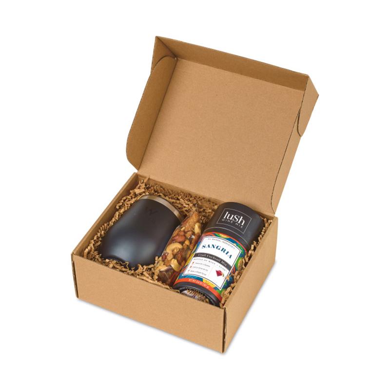 Corkcicle® Sip Sangria & Snack Custom Gift Set