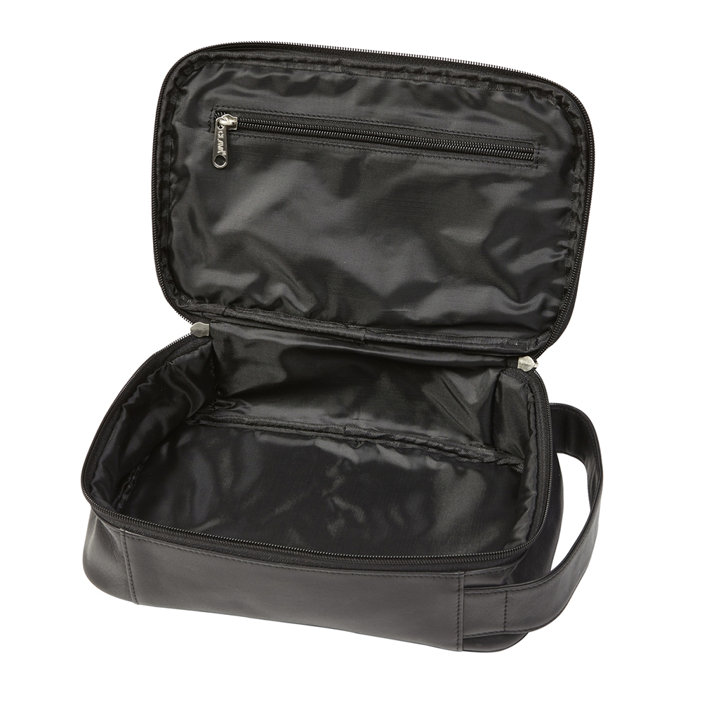 Tuscan Leather Cosmetics Bag (Optional Engraving)