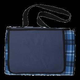 Custom Extra Large Plaid Picnic Blanket Tote
