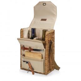 Custom Corsica Wine Basket with Tool Set