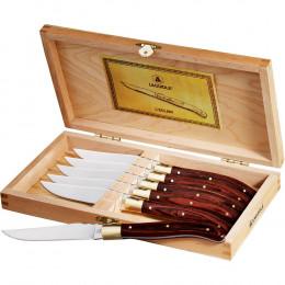 Custom Laguiole® 6-Piece Steak Knife Set