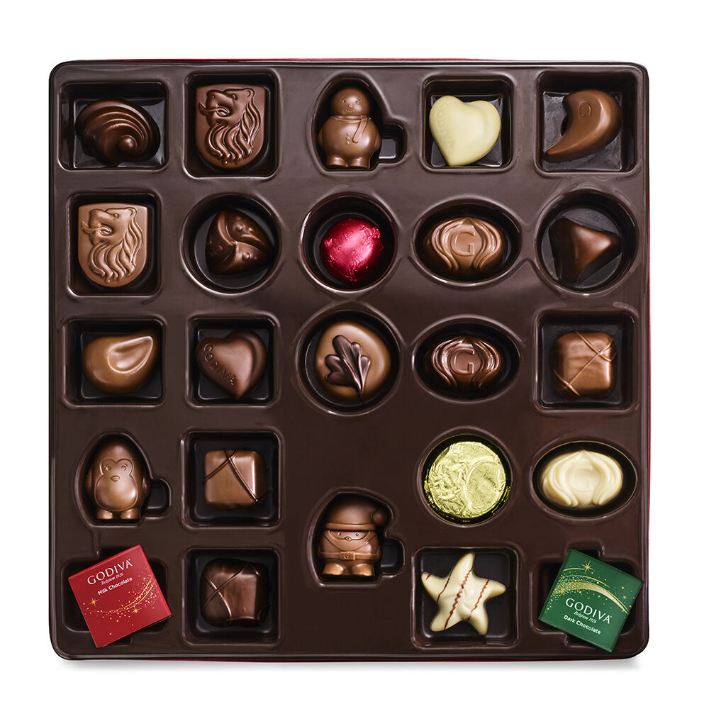 Godiva Holiday Luxury Chocolate Advent 2021 Calendar