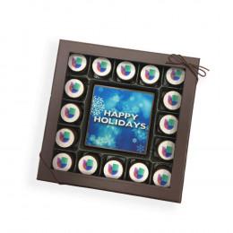 Custom Chocolate Truffle Assortment and Card - 17 Piece