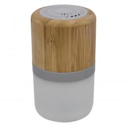 Custom Bamboo Light-Up Wireless Bluetooth Speaker