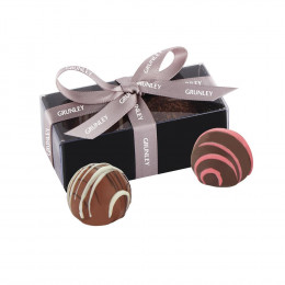 Gourmet Chocolate Truffle Tasters Gift Box - 2 pc