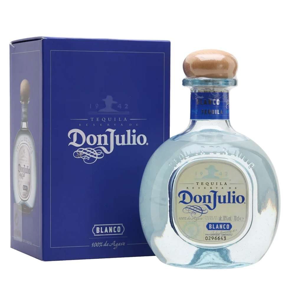 Don Julio Blanco Tequila 375ml - Complementary Elegant Packaging