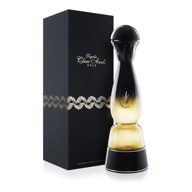 Clase Azul Gold Tequila 750ml - Complementary Elegant Packaging