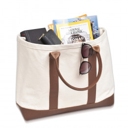 Custom Leather Boat Bag