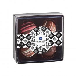 Decadent Chocolate Truffle Gift Box - 4 pc