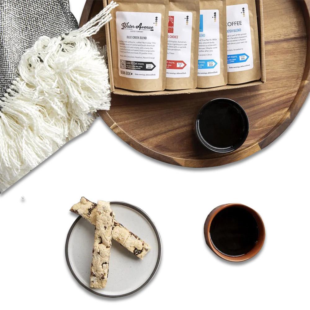 Bean Box Coffee Sampler - Six Months Subscription Gift
