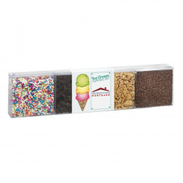 Ice Cream Toppings 4 Pack Deluxe
