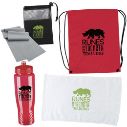 Custom Workout Essential Accessories Gift Set