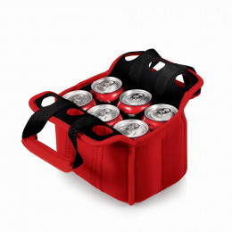Custom Six Pack Beverage Cooler Tote
