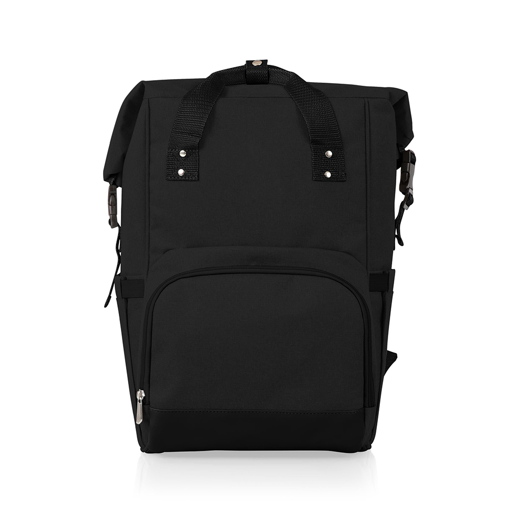 On The Go Roll-Top Custom Cooler Backpack