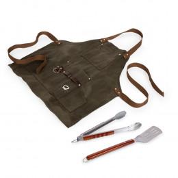Custom BBQ Grilling Apron w/ Tools & Bottle Opener