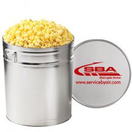 Gourmet Buttered Popcorn Tin – 6.5 Gallon