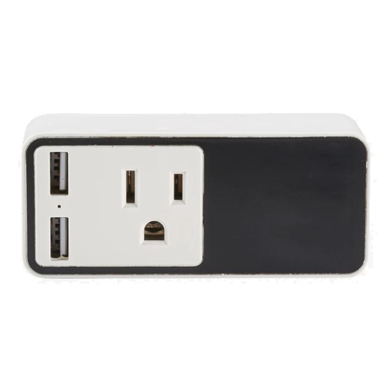 Custom Light Up Logo Wifi Smart Plug with USB Output