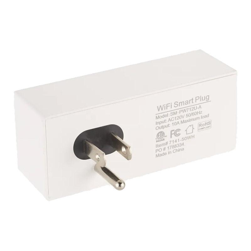 Custom Double Outlet ETL Wifi Smart Plug