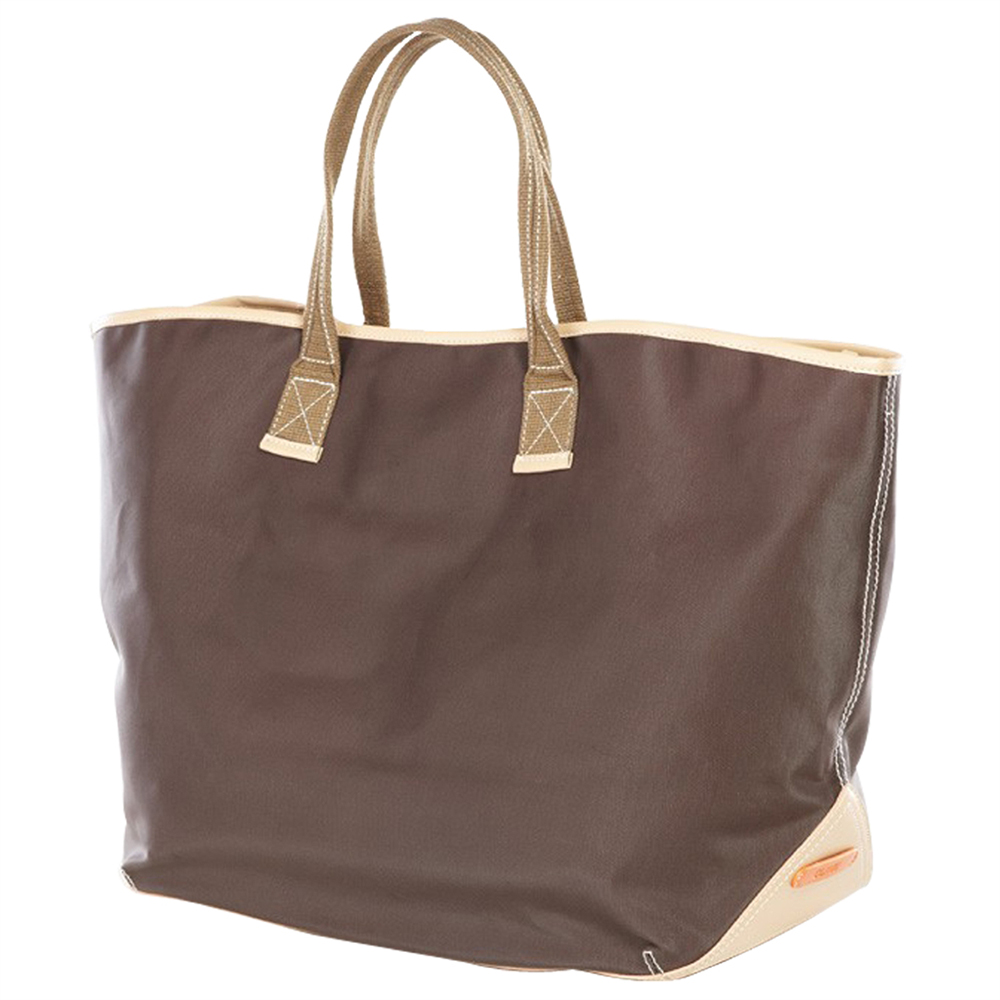 Carina Coated Canvas Large Tote Bag (Optional Engraving)