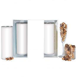 Boozy Popcorn Gift Tube Trio - Large