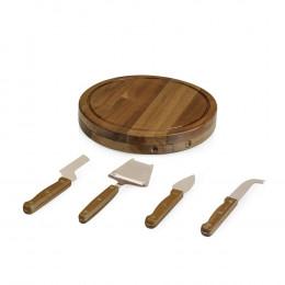 Custom Engrave Circo Acacia Cheese Board Set