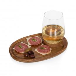 Custom Wine Appetizer Plate