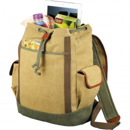 Custom Cutter & Buck Legacy Cotton Canvas Backpack