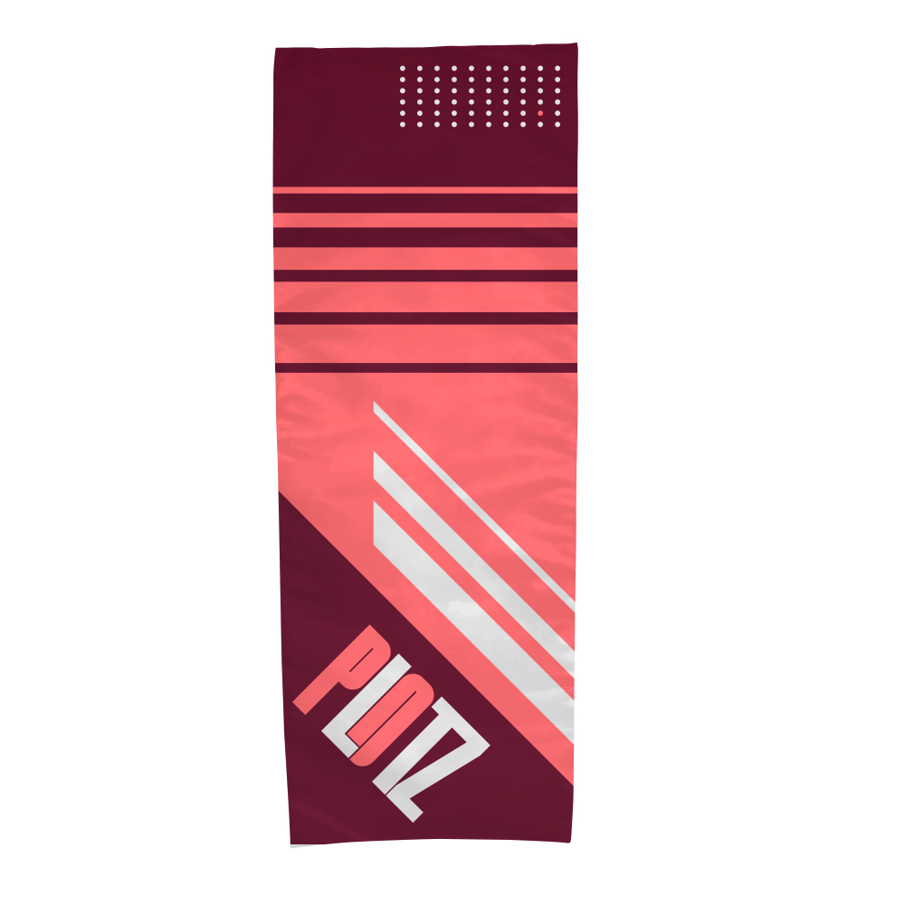 Dye-Sublimated Cooling Towel Custom Mailer Kit