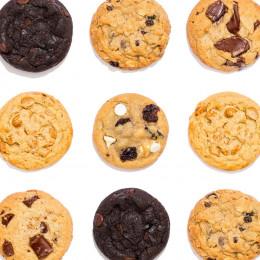 Happy Birthday Fresh Baked Assorted Cookies Tin