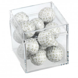 Chocolate Golf Balls Cube