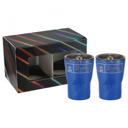 Custom Glacier 12 oz. Insulated Tumbler Duo with Lids and Gift Box