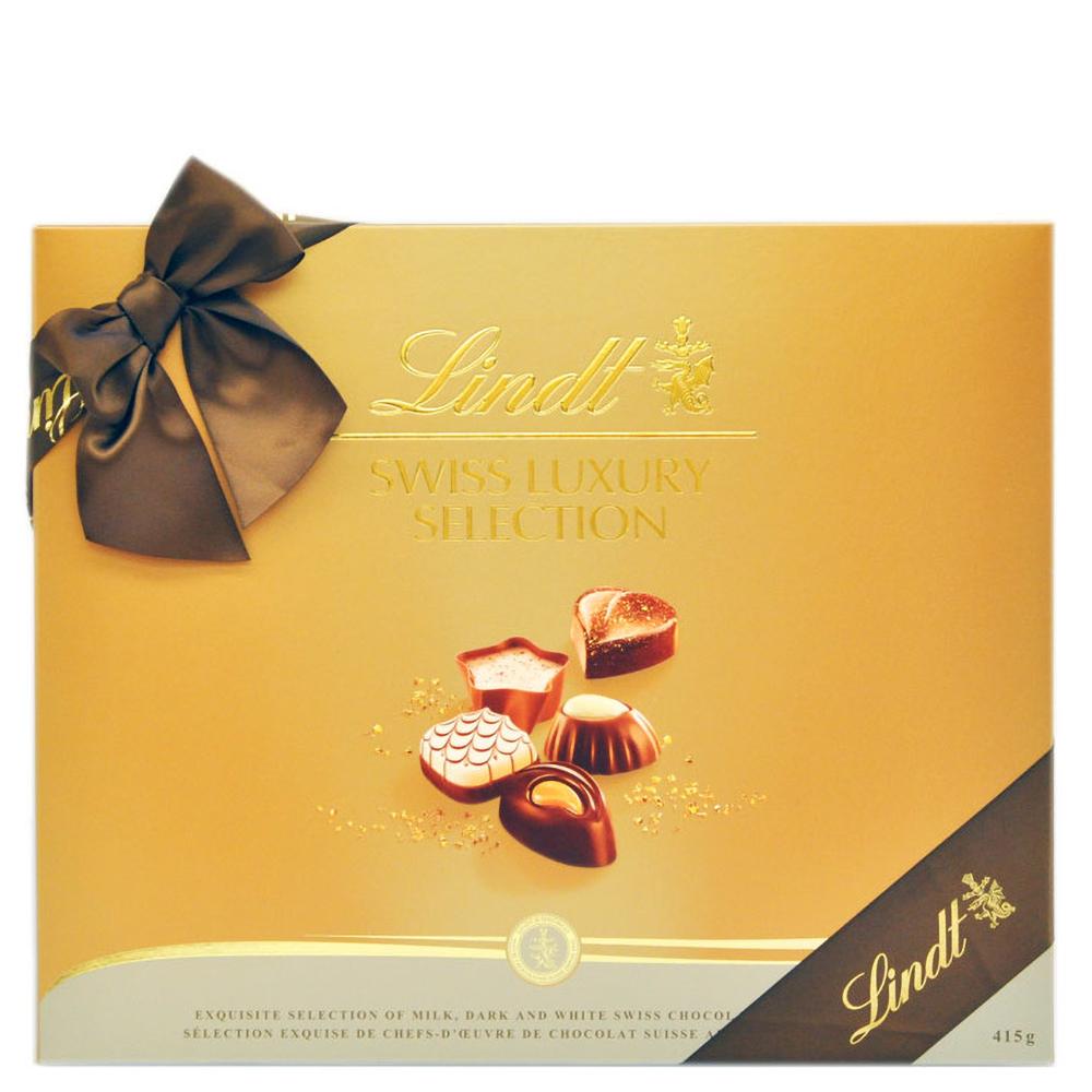 Lindt Swiss Luxury Gift Box (40pc 14.6oz)