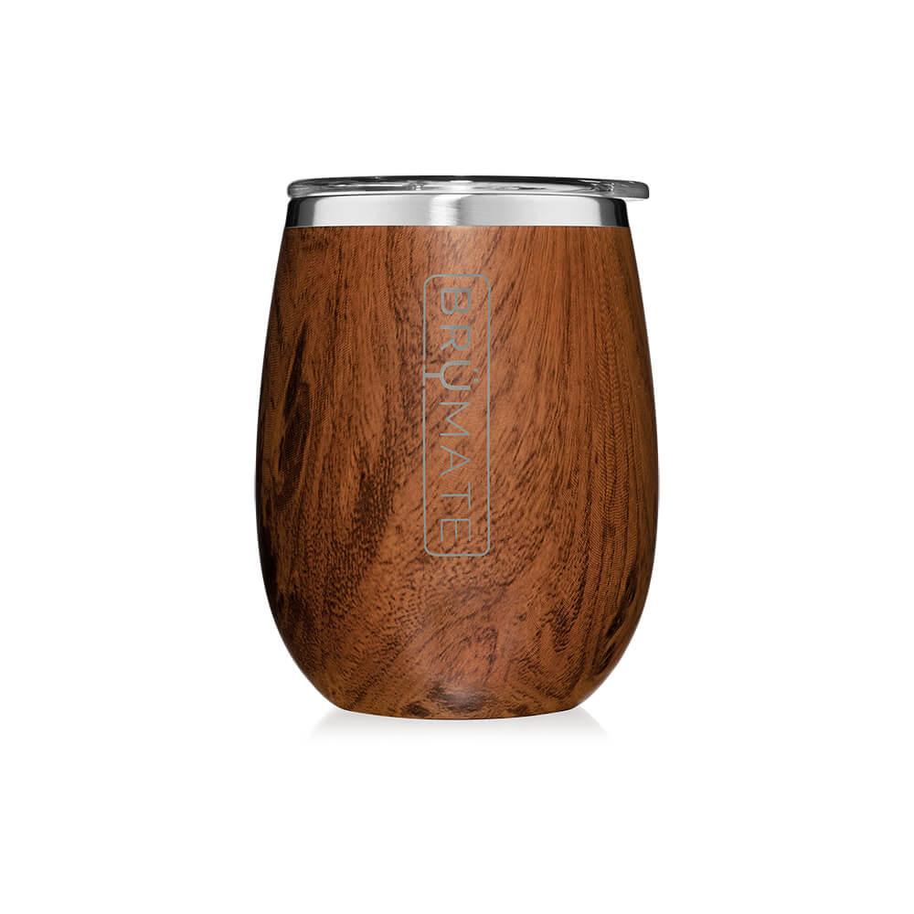Custom Brumate Uncork'd XL 14 Oz Wine Tumbler Walnut